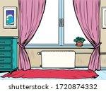 background apartment interior ... | Shutterstock .eps vector #1720874332