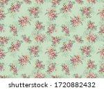 beautiful digital flower...   Shutterstock . vector #1720882432
