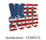 vote 2008 | Shutterstock .eps vector #17209171
