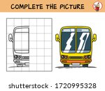 complete the picture of a... | Shutterstock .eps vector #1720995328