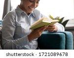 Focus On Paper Book In Hands Of ...