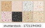 terrazzo texture classic... | Shutterstock .eps vector #1721194342
