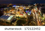 christmas market in galway at... | Shutterstock . vector #172122452