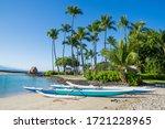 Hawaiian Outrigger Canoe At...
