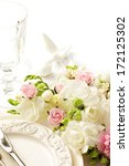 wedding table setting | Shutterstock . vector #172125302