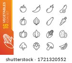 simple set of outline icons... | Shutterstock .eps vector #1721320552
