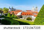 prague castle and st nicholas... | Shutterstock . vector #1721367235