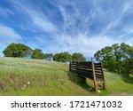 Cattle Gate Along Acorn Creek...