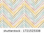 bohemian chevron fashion print... | Shutterstock .eps vector #1721525338