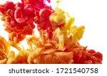 ink drop in water on white... | Shutterstock . vector #1721540758