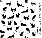 Seamless Pattern Of Simply...