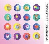 bundle of miscellaneous set...   Shutterstock .eps vector #1721560582