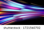 colorful light trails with... | Shutterstock .eps vector #1721560702