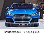detroit   january 13   the audi ... | Shutterstock . vector #172161116