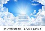 Cloud Stairway To Heaven....