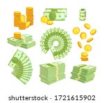 set various kind of money... | Shutterstock .eps vector #1721615902