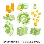 set various kind of money... | Shutterstock .eps vector #1721615902
