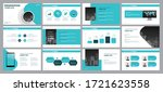 business presentation... | Shutterstock .eps vector #1721623558