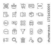 e commerce and online shopping... | Shutterstock .eps vector #1721633005