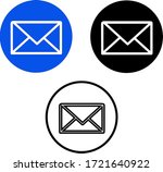 message  email  envelop vector...
