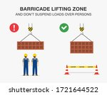 workplace safety rule for... | Shutterstock .eps vector #1721644522