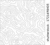 topographic line pattern in...   Shutterstock .eps vector #1721698405
