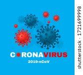 coronavirus  2019 ncov ... | Shutterstock .eps vector #1721699998