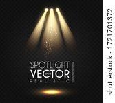 spotlight. transparent light...   Shutterstock .eps vector #1721701372