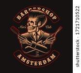 vector illustration of barber... | Shutterstock .eps vector #1721710522