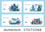 jeweler and jewelry web banner...   Shutterstock .eps vector #1721712568