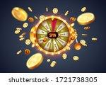 vector illustration spinning... | Shutterstock .eps vector #1721738305