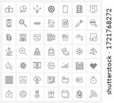 set of 49 ui icons and symbols...