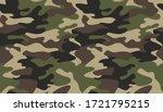 camouflage pattern background... | Shutterstock .eps vector #1721795215