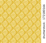 Seamless Pattern Swirls - stock vector
