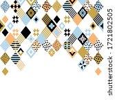 rhombus background. vector... | Shutterstock .eps vector #1721802505