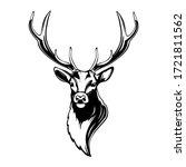Deer Head. Reindeer Head...