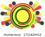 abstract bright colorful... | Shutterstock . vector #1721820412
