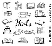 Set Of Books Thick And Thin...