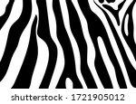 Black And White Zebra Stripes...