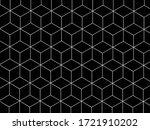 3d box pattern in black   Shutterstock .eps vector #1721910202
