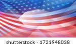 usa independence day abstract... | Shutterstock .eps vector #1721948038