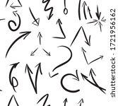 seamless pattern of various... | Shutterstock .eps vector #1721956162
