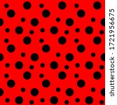 Red Dots Seamless Pattern ...