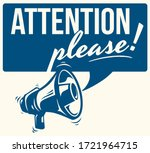 Attention Please Monochrome...