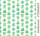 green economy seamless pattern... | Shutterstock .eps vector #1722016015