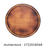 Pizza Cutting Board Isolated On ...