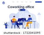 coworking office flat landing...
