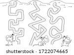 handwriting practice sheet...   Shutterstock .eps vector #1722074665