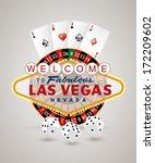 vector american roulette wheel... | Shutterstock .eps vector #172209602