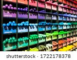 Colorful Background With Multi...